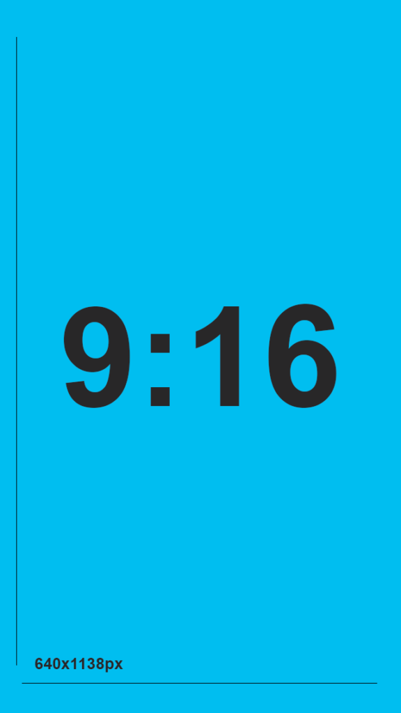 9:16 aspect ratio for MMS messaging