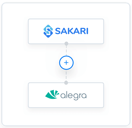 Alegra and Sakari integration