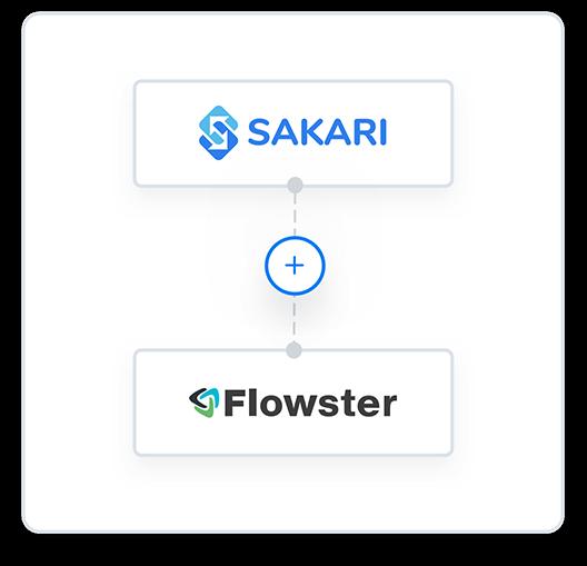 Flowster and Sakari integration
