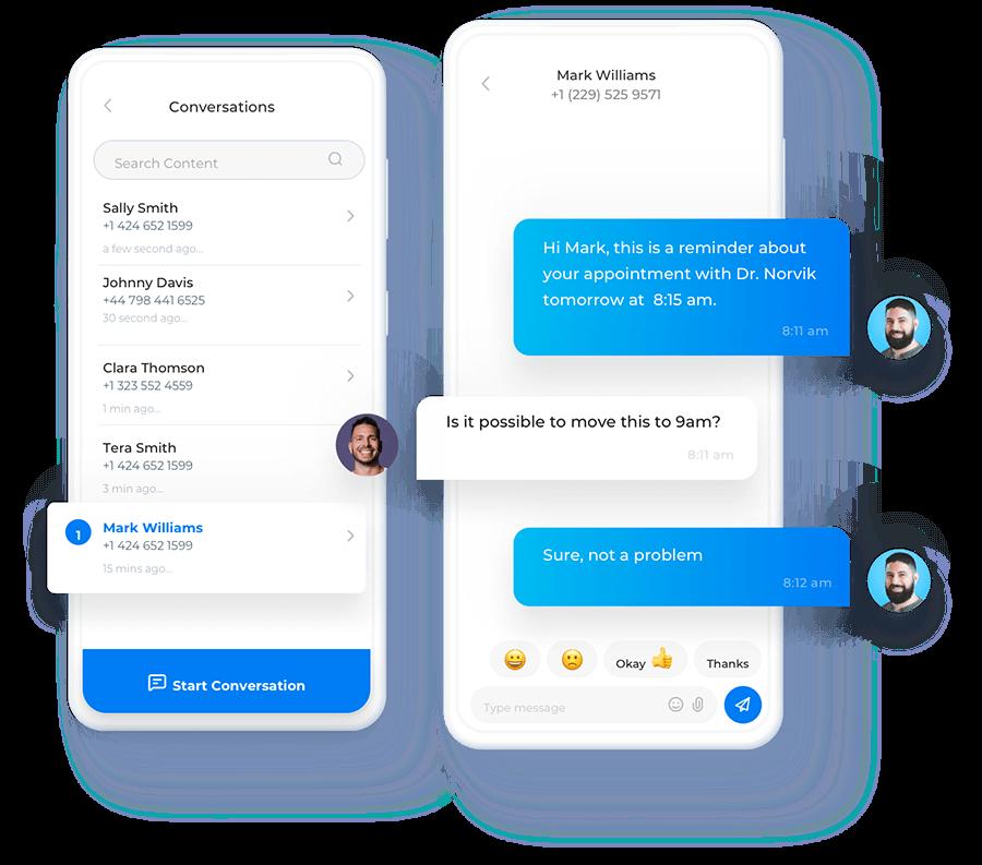 Mobile Messaging with Sakari