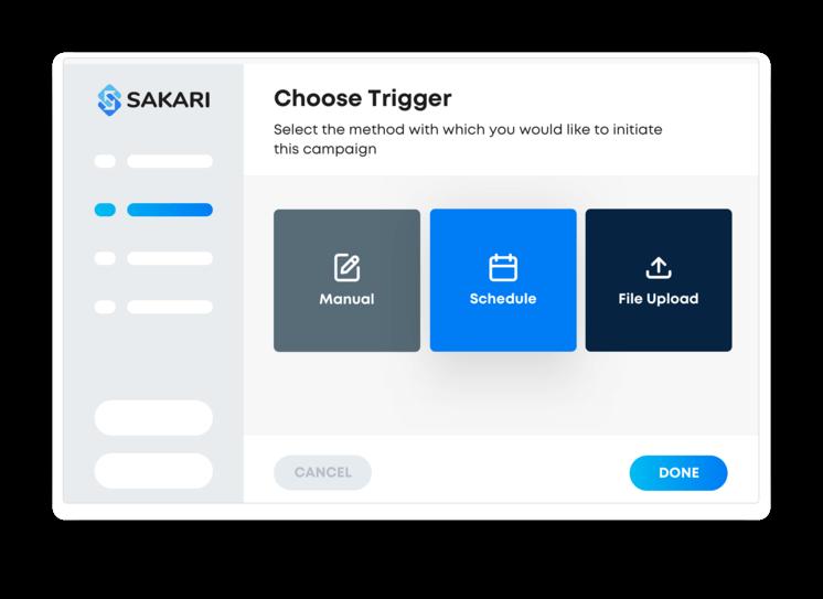 Sakari SMS marketing campaigns