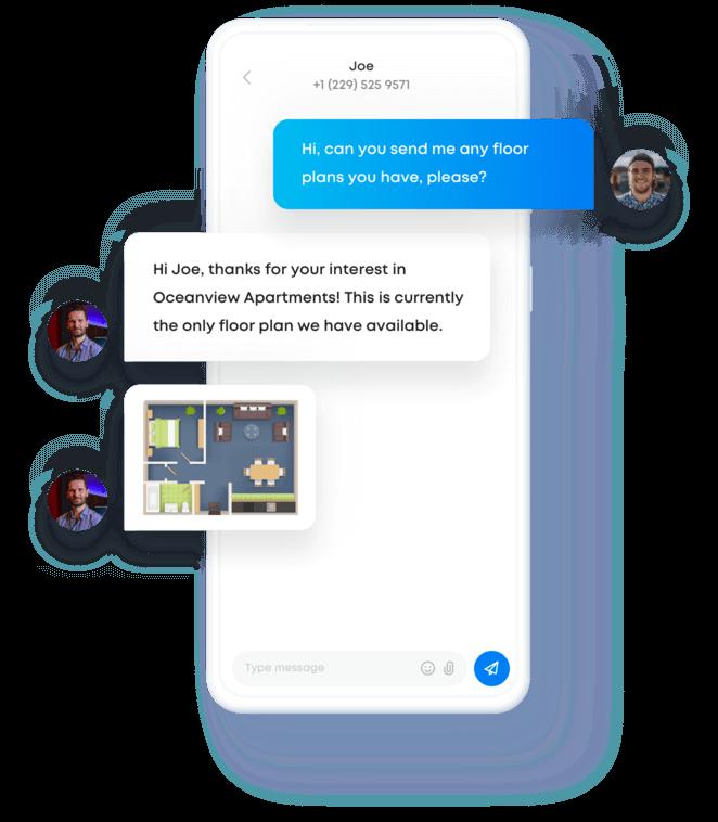 Sakari MMS messaging example