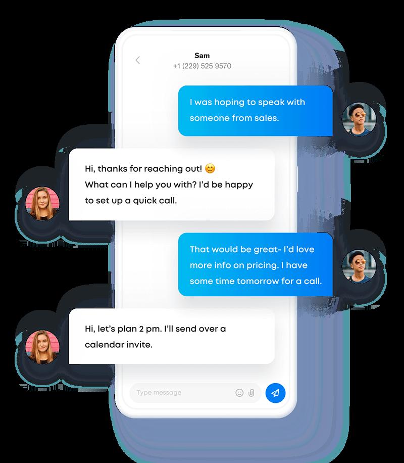 Sakari send and receive SMS