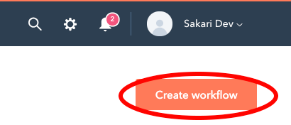 Create a workflow in HubSpot