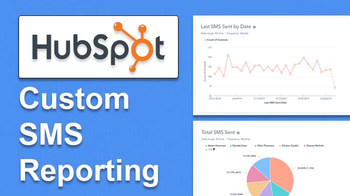 hubspot sms custom reports