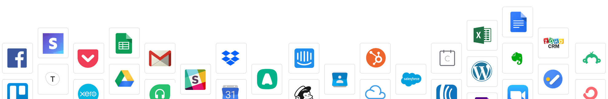 Sakari SMS integration icons