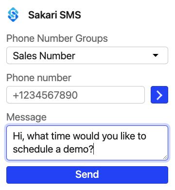 intercom outbound sms