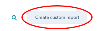 create custom report button