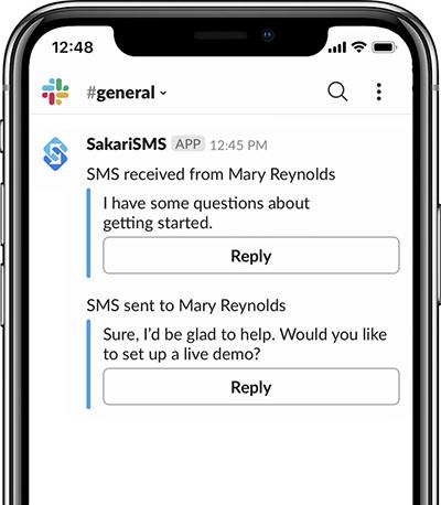 slack mobile messaging