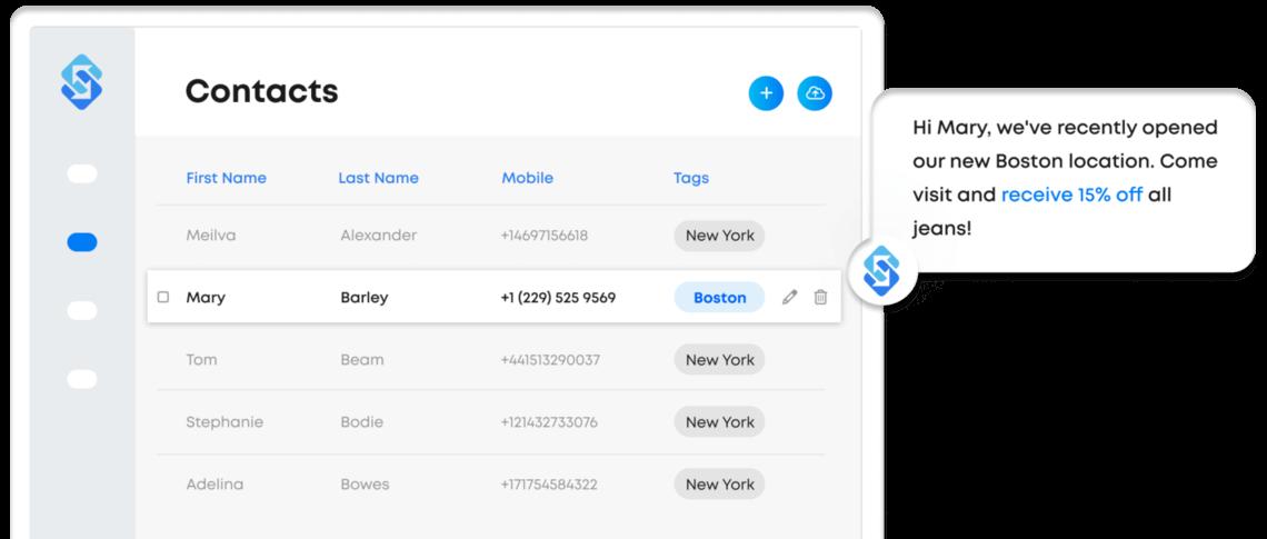 Send SMS online with Sakari messaging