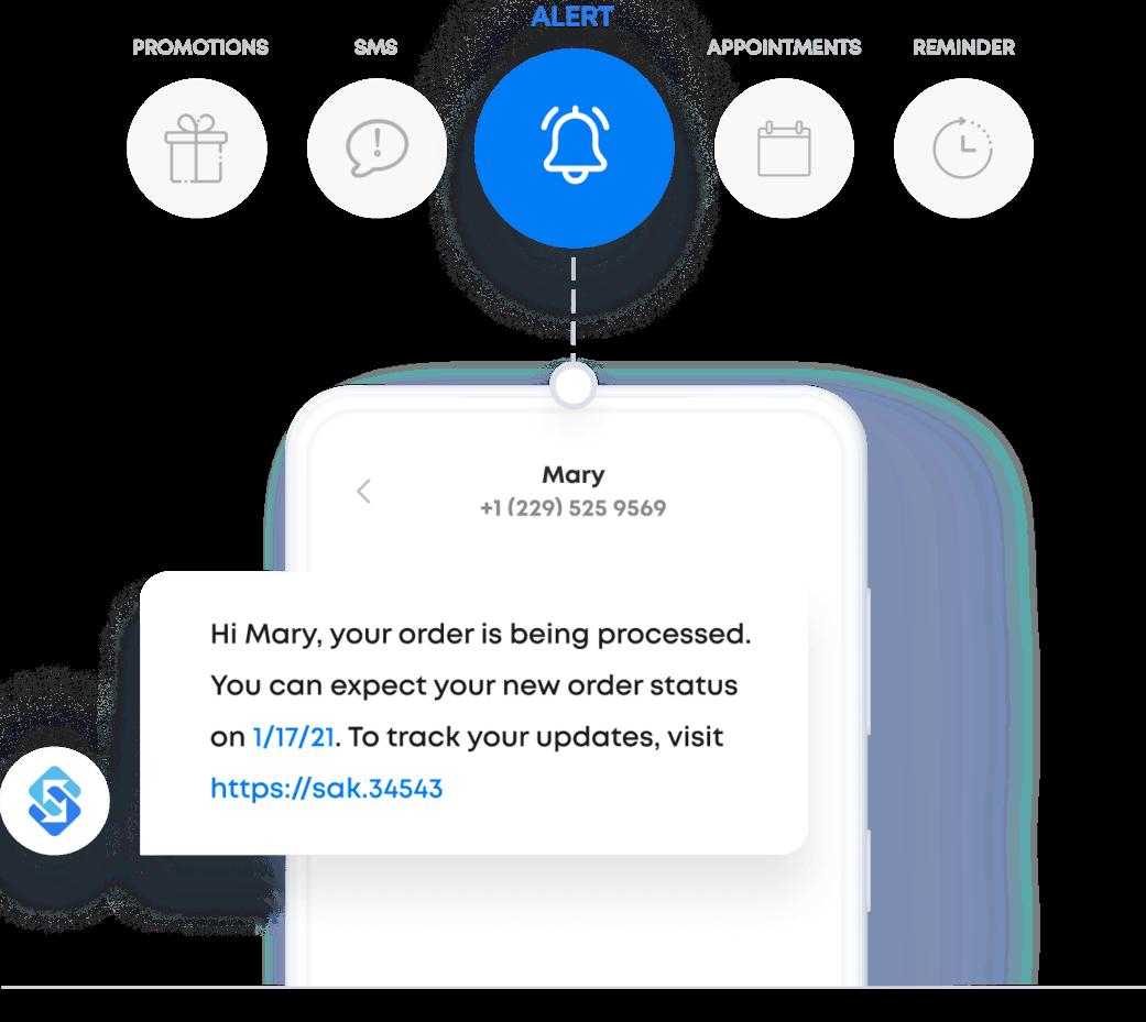 messaging options with Sakari