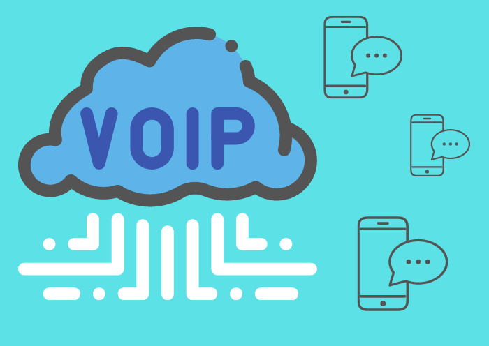 VoiP texting